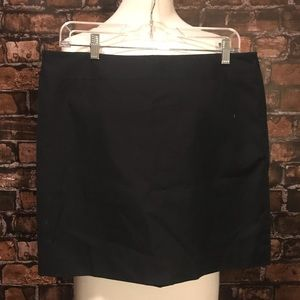 Banana Republic Navy Mini Skirt